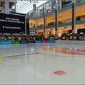 Die Eisfläche in der Dubai Mall