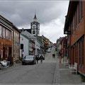 Einkaufsstrasse in Roeros