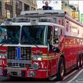 Feuerwehr mit Ausguck