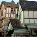 Häuser im Mont-St-Michel