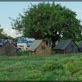 Unser Zeltdorf für eine Nacht