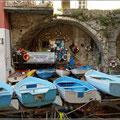 Boote in Riomaggiore