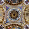 Decke und Kuppel der Isaak-Kathedrale