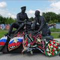 Denkmäler gibt es überall in Russland