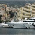 Boote in Monaco