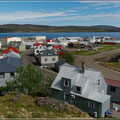 Blick auf Hólmavik