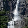 So viele Wasserfälle wie in Norwegen haben wir noch nie gesehen