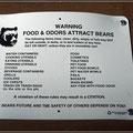Schnelles Essen hilft vor Bären