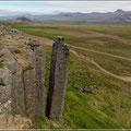 Basaltsäulen bei Gerauberg