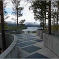 Skandinavisches Design, selbst bei Aussichtspunkten