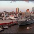 Blick auf den Hafengeburtstag