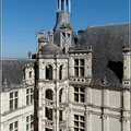 Treppe in Chambord