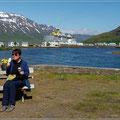 Das letzte Eis auf Island