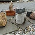 Rucksack aus Stein
