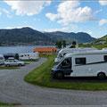 Stellplatz in Sogndal
