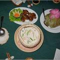 Das Essen in Vietnam schmeckt super