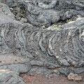 Sog. Stringlava auf La Palma