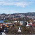 Blick auf Trondheim