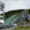 Skisprungschanze von Lillehammer
