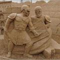 Krieger aus Sand