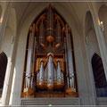 Orgel in der Hallgrimskirche