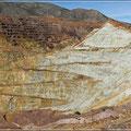 Die Minen sind nicht zu übersehen