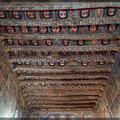 Decke in der Debre-Berhan- Selassie-Kirche