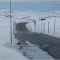Schnee auf der Hardangervidda