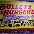 Erst schießen, dann den Burger - oder umgekehrt