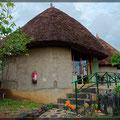 Kanta Lodge in Konso (sieht von außen besser aus als von innen)