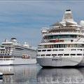 Die Viking Sea liegt schon seit 3 Tagen neben uns, auch in Stavanger