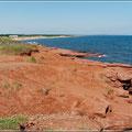 Küste auf Prince Edward Island