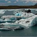 Unterwegs auf der Gletscherlagune