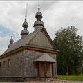 Holzkirche irgendwo in Polen
