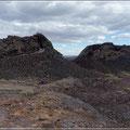 Rundgang durch die Lavafelder