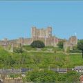 Blick auf Dover Castle