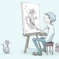 2013年5月 【株式会社ビビビット 様】webサイト用イラストレーション