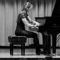 Ich beim Konzert. (c) für dieses und das andere S/W-Foto am Anfang: William Mebane.