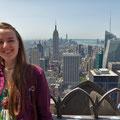 Auf dem Rockefeller-Center bei Tag