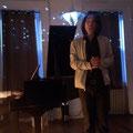 Bei einem kleinen Konzert von zwei Freunden - Komponist / Pianist und Countertenor