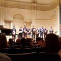 Und hier alle Musiker nach dem Ende des Konzerts