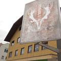 Installation, Freiluftgalerie, Fussgängerzone Lana Gries