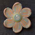 ブローチ Rainbow Flower3