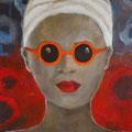 Elke König, Acryl auf Leinwand, 70 x 90 cm
