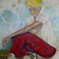 Elke König, Acryl auf Leinwand, 100 x 80 cm