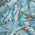 Elke König, Acryl auf Leinwand, 50 x 40 cm