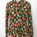 Bluse aus Vintagstoff, Gr.38