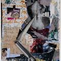 « Fremdgesteuert » 2008        30 x 21cm, Collage