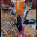 « Posten 328 » 2006         32,5x24,5 cm , Collage