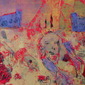 ´Arena` 2007, 38x57 cm, 4 Farben/Tonpapier
